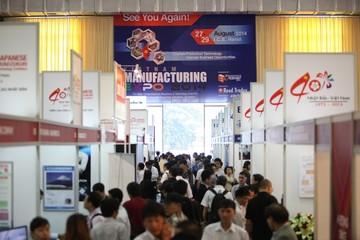 Triển lãm Vietnam Manufacturing Expo thu hút 13.614 khách tham quan