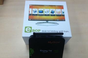 ELCOM ra mắt thiết bị giải trí truyền hình eBOP