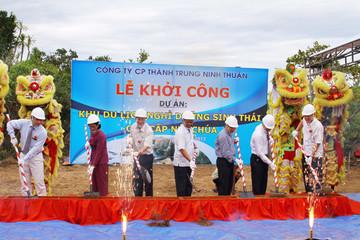 Ninh Thuận khởi công khu nghỉ dưỡng 379,4 tỷ đồng