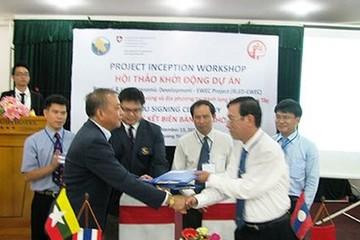 Dự án phát trển hành lang kinh tế Đông Tây bắt đầu khởi động