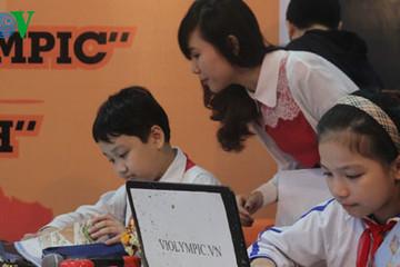 Khởi động cuộc thi giải toán qua Internet - Violympic