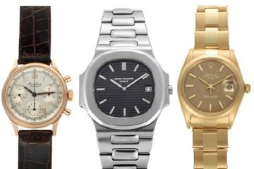 Lần đầu tiên Christie's đấu giá đồng hồ chỉ bán trực tuyến