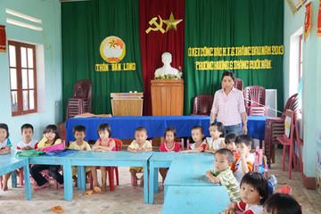 Thiếu trường, lớp ở nông thôn: Nhiều trẻ mầm non thất học