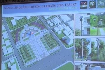 Quảng Nam chi hơn 81 tỷ đồng nâng cấp Quảng trường 24 tháng 3