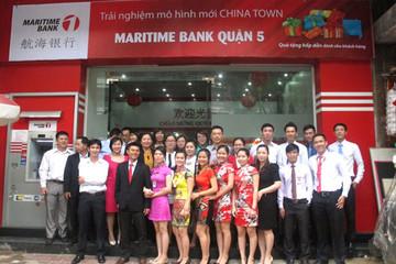 Maritime Bank khai trương phòng giao dịch mới
