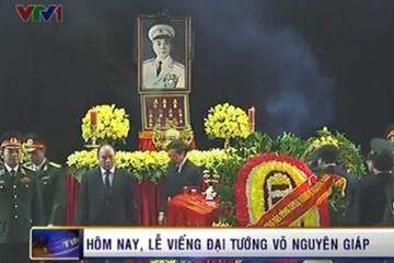 Lễ viếng Đại tướng Võ Nguyên Giáp