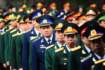 Hình ảnh xúc động lòng người ở lễ viếng Đại tướng