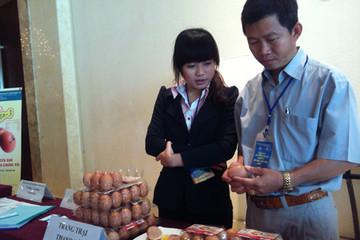 Sôi động thị trường trứng gà chất lượng cao