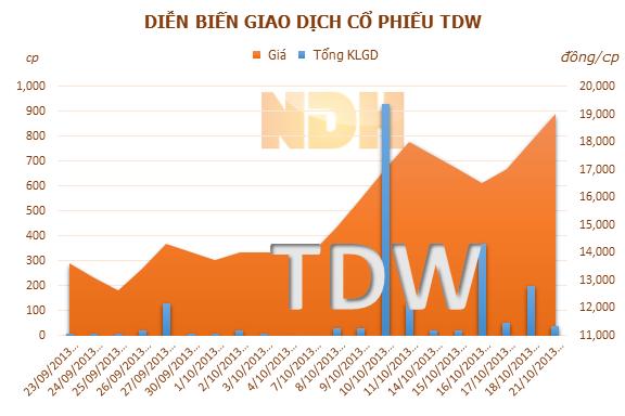 REE chính thức chào mua 1,455 triệu cổ phiếu TDW