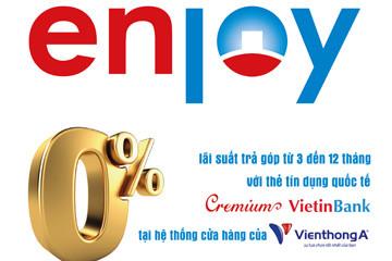 Khuyến mại lớn cho chủ thẻ VietinBank tại Viễn Thông A và Cao Phong
