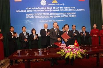Vietnam Airlines ký hợp đồng mua 40 động cơ máy bay