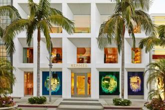 Cửa sổ trưng bày mang cảm hứng đại dương của Hermès