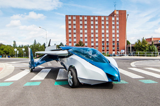 Aeromobil 2.5: Xe bay mới thử nghiệm