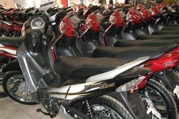 Sốt ảo thị trường xe máy đón lõng mùa Tết