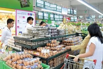 Giá trứng gà giảm vì nhiều công ty xả hàng tồn