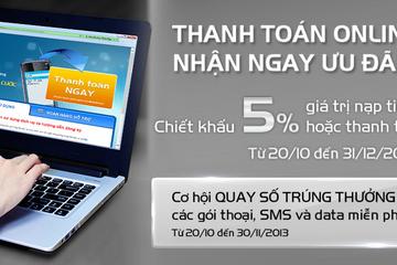 Ưu đãi tới 50% của MobiFone với chủ thẻ TienPhong Bank