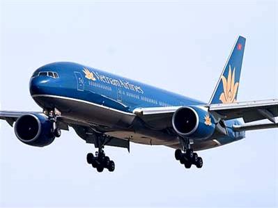 Vietnam Airlines khuyến cáo khách hàng về bão Haiyan