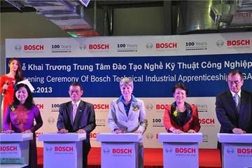 Bosch tiếp tục đầu tư 208 triệu USD vào Việt Nam