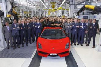 Lamborghini xuất xưởng chiếc Gallardo cuối cùng
