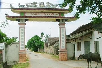 Cổng làng hay cổng chào?