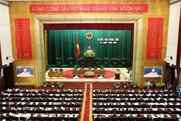 Hôm nay, Quốc hội thông qua Dự thảo sửa đổi Hiến pháp