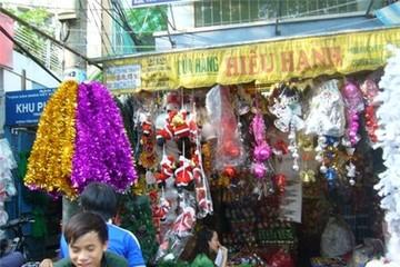 Thị trường trang trí Giáng sinh trầm lắng