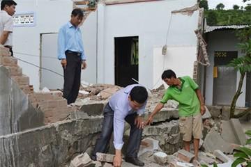 Vụ sụt lún đất ở Di Linh: Hỗ trợ 340 triệu đồng di dời nhà dân