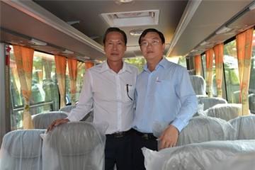 Bàn giao 20 xe khách cao cấp SAMCO Felix