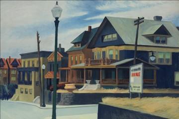 Kỷ lục mới cho tranh của Edward Hopper