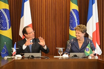 Brazil và Pháp ra mục tiêu tăng gấp đôi kim ngạch thương mại