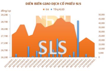 Năm 2014, SLS dự kiến lãi 24 tỷ đồng