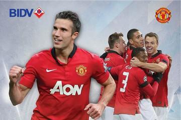 Nhiều ưu đãi hấp dẫn cho chủ thẻ BIDV-Manchester United