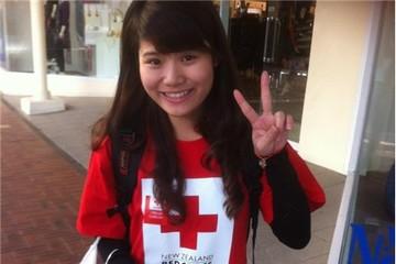 Gặp nữ sinh Việt trên đất New Zealand