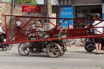 Hà Nội ráo riết loại trừ xe 3 bánh giả danh thương binh