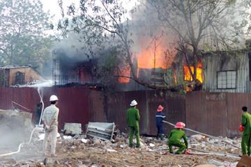 Vụ cháy gần nhà khách La Thành: Công trình xây dựng không phép, không sổ đỏ