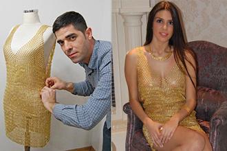 Thêm một chiếc váy bằng vàng