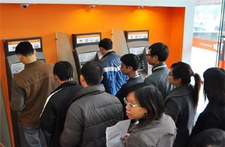 Ngân hàng chống nghẽn ATM dịp Tết