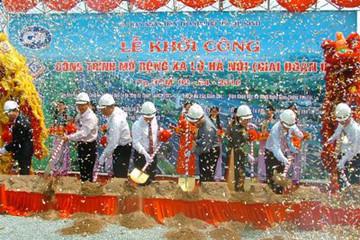 Tài trợ tín dụng Dự án mở rộng xa lộ Hà Nội giai đoạn 2
