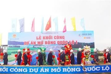 Khởi công mở rộng QL1A qua địa phận tỉnh Quảng Nam
