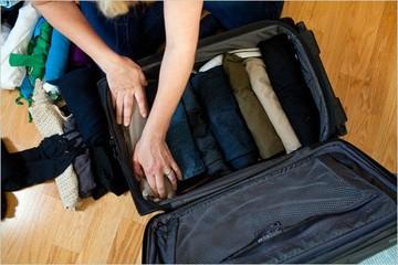 Mẹo xếp đồ vào vali hiệu quả nhất