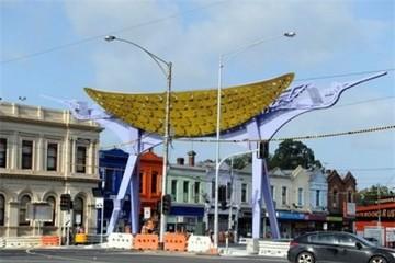 Cổng chào khu phố Việt Nam đầu tiên tại Úc