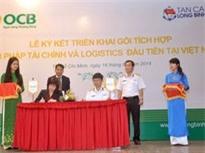 OCB hợp tác với Tân Cảng để hỗ trợ doanh nghiệp logistics