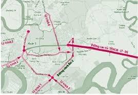 Điều chỉnh lộ trình tuyến cao tốc TP.HCM-Long Thành-Dầu Giây