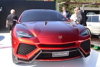Lamborghini Urus đi vào sản xuất năm 2017