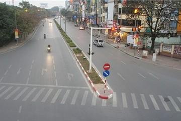 Phố phường Hà Nội chiều 30 Tết