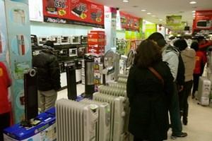 Máy sưởi, máy sấy đắt hàng vì đợt lạnh về liên tiếp