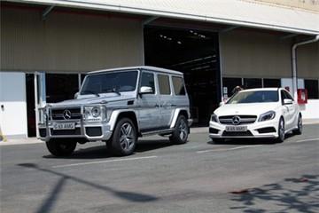 Bộ đôi xế độ Mercedes AMG độc nhất Việt Nam