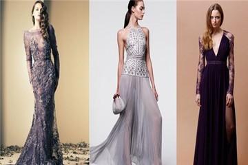 10 mẫu váy tím sang trọng quyến rũ nhất xuân hè 2014