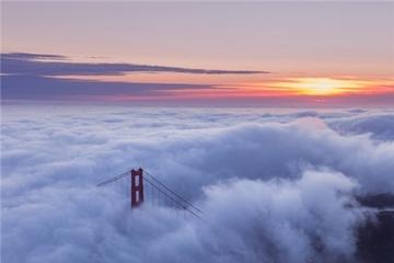 Từ bầu trời nhìn xuống San Francisco