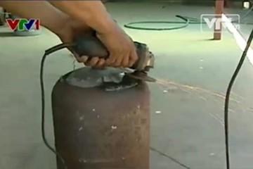 Nở rộ tình trạng hoán cải bình gas tại TP.HCM